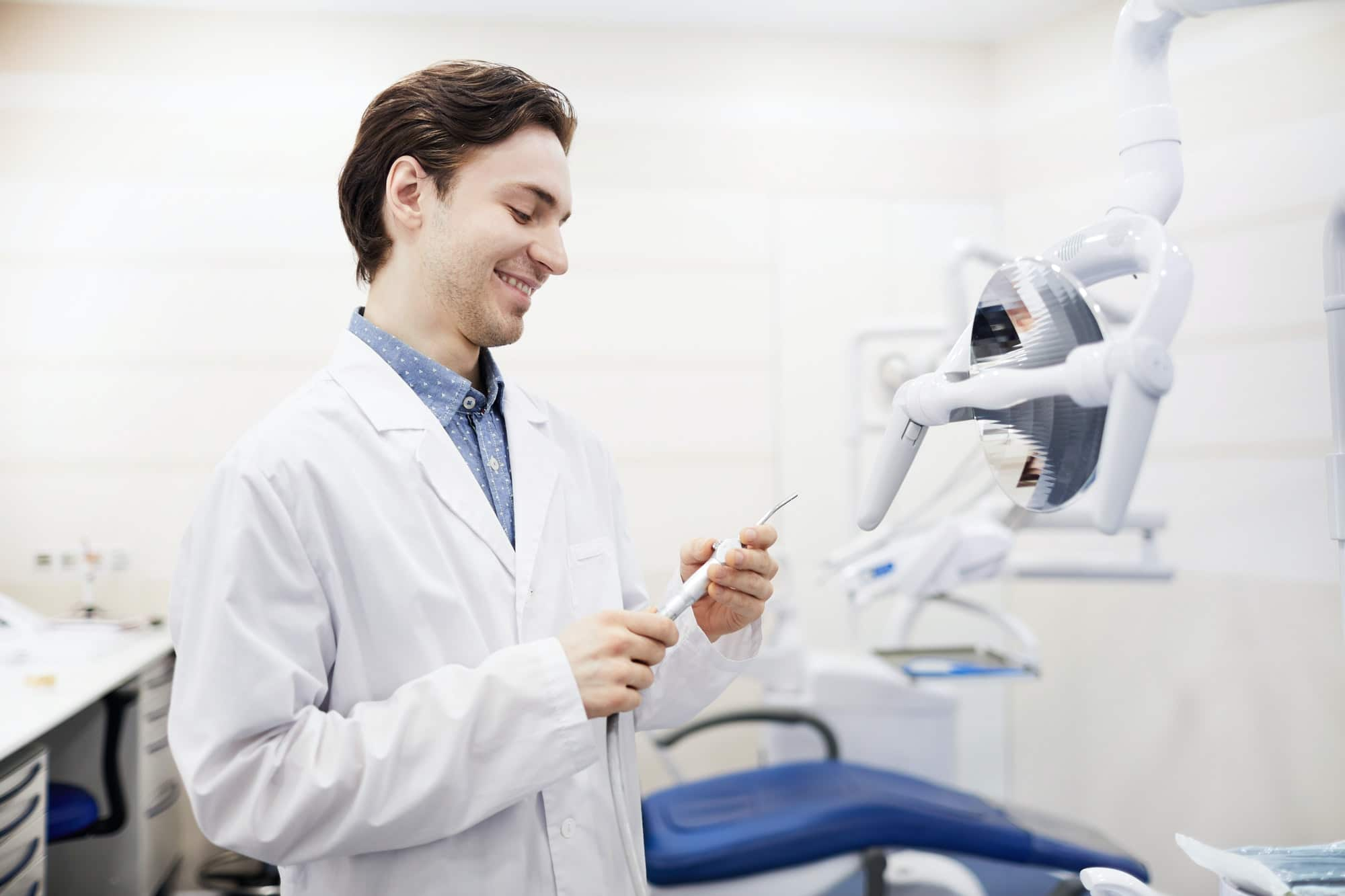 Smiling Young Dentist